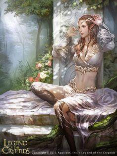 Artist: Unknown name aka Lanyu - Title: Unknown - Card: Sensate Ara