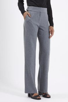 Premium Wide Leg Trousers