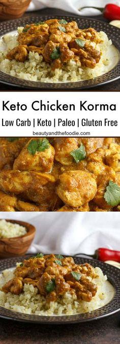 Keto Chicken Korma- Low Carb & Paleo
