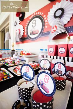 CARS Party   http://www.facebook.com/MyBestWishesEvents  #cars #kidsparties #candybar