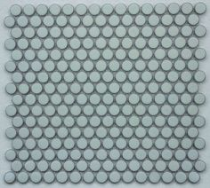 CC Mosaics Plus+ Bright Mint Green Penny Round Mosaic 12x12