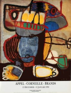 peinture : Karel Appel, hollandais