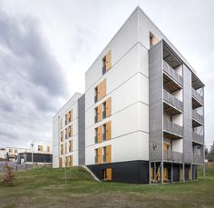 Image 1 of 22 from gallery of 60 Social Housing Apartments in Rive-De-Gier  / Tectoniques Architects.