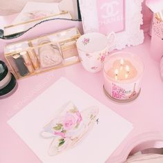 Image about cute in ♡ Pretty In Pink ♡ by ღ Kayla ღ 🎃🎀 Pretty Pastel, Pastel Pink, Pastel Shades, Aesthetic Look, Just Girly Things, Girly Stuff, Pink Home Decor, Sweet Soul, Princess Aesthetic