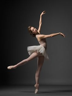 NYC Ballet's Rebecca Krohn, photo by Henry Leutwyler....I am going to say she is making the letter K, for my name.