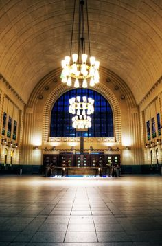 HDR photography shot of Helsinki Central Railway Station hall in the evening. Helsinki Things To Do, Visit Helsinki, Hdr Photography, Beautiful Buildings, Capital City, Norway, Around The Worlds, Central Station, Pictures
