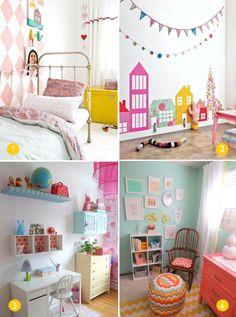 cute pastel colors girls rooms