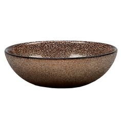 With a light-reflecting glittery finish, the Paparazzi Bowl Bronze brings a glam effect to your tabletop.