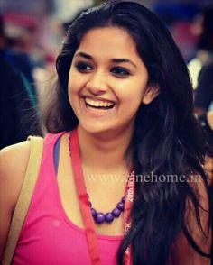 Keerthi Suresh@Beautiful Smile