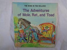 vintage 1982 The Adventures of Mole, Rat, and Toad (Kenneth Grahame's The Wind in the Willows) book adapted by Janet Palazzo-Craig by TheVintageKeepers on Etsy