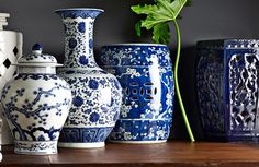 DREAMHOUSE: blue china