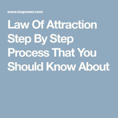 Money and Law of Attraction - Law Of Attraction Step By Step Process That You Should Know About The Astonishing life-Changing Secrets of the Richest, most Successful and Happiest People in the World What Is Law, Law Of Attraction Affirmations, Law Of Attraction Tips, Good Habits, Subconscious Mind, Happy People, Deep Thoughts, Self Improvement, Psychology