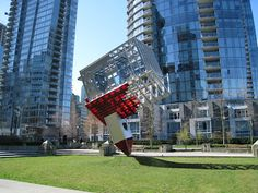 More info: It was too hot for New York City; too hot for Stanford University. But a controversial, imposing sculpture by renowned international artist Dennis Oppenheim finally found a public home in laid-back Vancouver.