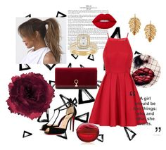 """""""Untitled #63"""" by aufarahma on Polyvore featuring Nika, Accessorize, Chi Chi, Champion, Louise et Cie and Marika"""