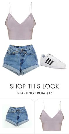 """Untitled #88"" by ifrancesconi on Polyvore featuring Levi's and adidas"