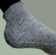 Men's sock with a unique construction.  Website is in Finnish with no translation offered.