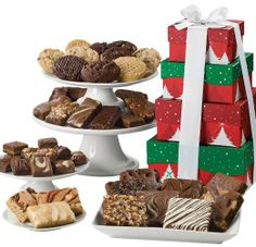 Fairytale Brownies Christmas 4-Box Tower Gift: Amazon.com: Grocery & Gourmet Food #NotABox   #UPSHappy