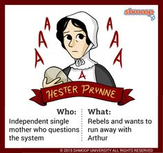 """character analysis paper on hester prynne Abstract—the paper mainly analyzes the hypocrisy of hester prynne, the heroine of the famous novel, the scarlet letter hester was punished because she the sin on the people in general and those main characters in particular, so as to show us the tension between society and individuals """"the custom--house"""", an."""