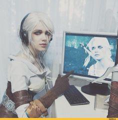 Цири,The Witcher,Ведьмак, Witcher, ,Игры,The Witcher 3 Wild Hunt,cosplay