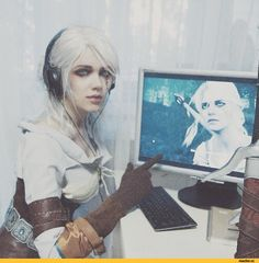 Цири,The Witcher,Ведьмак, Witcher, ,Игры,The Witcher 3 Wild Hunt,cosplay