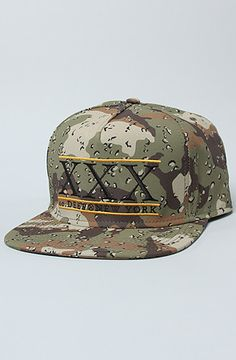 9a1837577ab The University Snapback Cap in Chips Camo by 10 Deep Dope Hats