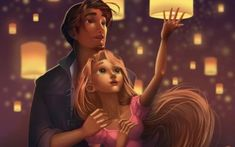 When the most wanted bandit in the kingdom, Flynn Rider, hides in a tower, he immediately becomes a prisoner of the longtime Rapunzel … Disney Rapunzel, Disney Amor, Tangled Rapunzel, Tangled 2010, Flynn Rider And Rapunzel, Disney Magic, Punk Disney, Disney Disney, Disney Fan Art