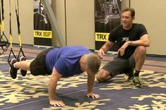 Short on time but still want to burn tons of calories? Follow our TRX workout video from home and get pointers from CEO and inventor Randy Hetrick. Get a quick metabolic blast with a series of fun and innovative moves.