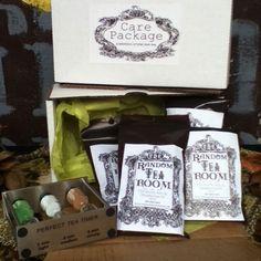 Low Caffeine Tea Care Package with Tea Timer from The Random Tea Room & Curiosity Shop for $29.25