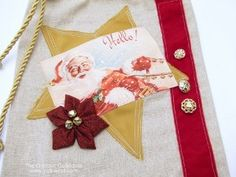 Pretty Embellishments Fabric Gift Bag