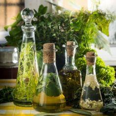 Fűszeres ecetek és olajok