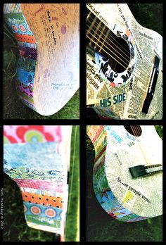 To wrap up a week of guitar-related posts, here's a roundup of quirky ways to repurpose them (or parts of them!)