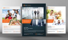 MultiPurpose Business Flyers by Business Templates on @creativemarket