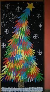 holiday crafts for kids classroom Handprint Christmas Tree, Christmas Crafts For Kids, Christmas Activities, Crafts To Do, Kids Christmas, Holiday Crafts, Arts And Crafts, Christmas Decorations, Diy Crafts