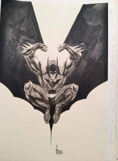 Batman, by Kenneth Rocafort *
