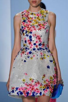Monique Lhuillier at New York Fashion Week Spring 2016