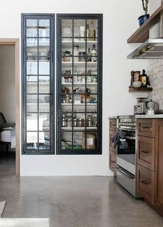 - Furniture for Kitchen - rebel with cause : slow design. rebel with cause : slow design. Kitchen Pantry Doors, Kitchen Pantry Design, New Kitchen, Kitchen Storage, Interior Design Living Room, Kitchen Decor, Awesome Kitchen, Kitchen Black, Kitchen Ideas