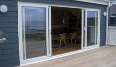 New Double Patio Doors Balconies Ideas Double Sliding Patio Doors, Diy Sliding Barn Door, Sliding Glass Door, External Sliding Doors, Slider Door, Glass Pantry Door, Sliding Door Window Treatments, Building A Barn Door, Aluminium Doors