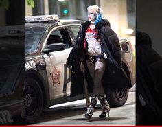 harley quinn#SuicideSquad | Margot Robbie -- NERDGASM On 'Suicide Squad' Set!!! (PHOTO) | TMZ.com
