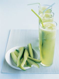 Perfect for a Summer garden party, this cucumber limeade (available through Martha Stewart Cocktails) is superrefreshing without being as fruity and sweet as other nonalcoholic cocktails. Drink your veggies!