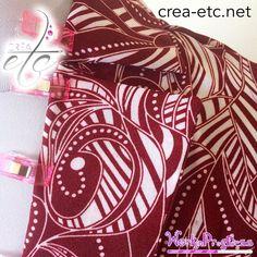 CRÉAetc - www.crea-etc.net Simisi ya basi #couture #tuto #diy #creaetc #creamadame #chemise #chemisier #popeline #sewing #sewingart #fashionphotography #fashion #mode #womenfashion #sewingaddict #batik #wax #zentangle #mandala