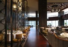 Dynasty Restaurant - Main Dining Hall Restaurant Floor Plan, Cafe Restaurant, Barn Living, Chinese Restaurant, Hospitality Design, Floor Design, Fine Dining, A Table, Renaissance