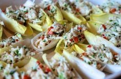 Simple Crab Salad  Ingredients:  Italian parsley (2 tablespoons)  Scallions (2)  Lump crab meat (1 1 pound can)  Paleo mayonnaise (1 tablespoons)  Black pepper, Freshly ground (1)  Kosher salt (1)  Lemon juice (1 tablespoon)