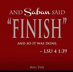 University of Alabama wins over Texas A & M 49-42. 9-14-13