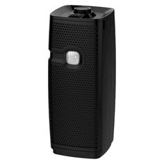 Holmes Mini Tower Air Purifier with Maximum Dust Removal Filter For Small Rooms (HAP9413B), Black