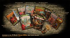 The Mutant Epoch RPG::The Oscar-Mike mailorder bundle The Crossroads, Postage Rates, Art Sites, Epoch, Any Book, In The Flesh, Art Gallery, Creatures, Baseball Cards