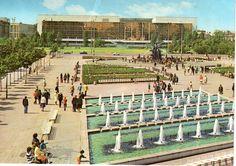 Berlin DDR Palast der Republik in den 70ern
