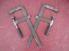 F-образные струбцины сделал сам - YouTube Welding Works, Diy Welding, Metal Welding, Metal Bending Tools, Metal Working Tools, Metal Tools, Dremel Tool Projects, Metal Projects, Welding Projects