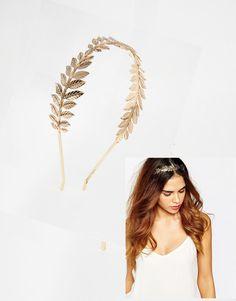 הבארוק סגנון זהב כסף מתכת זוגי עלה Hairbands אביזרי חתונה תכשיטי שיער קישוטי שיער כיסוי ראש עלה ילדה