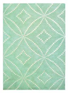 Material: WolleHerstellungsart: HandgetuftedMotiv / Design: OrnamentFlorhöhe: 6 bis 10 mm