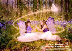Magic bluebell fairy